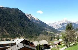 4 bedroom apartments for sale in Chatel. Spacious apartment with а balcony, in a new residence, next to the ski slope and the cable car, Chatel, France