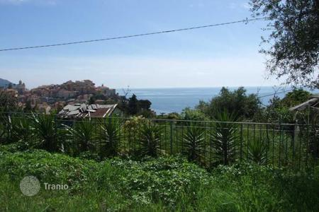 Property for sale in Imperia (city). Two-storey villa under construction, with a panoramic view of the sea, Imperia, Italy