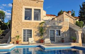 Beautiful villa with an open-air swimming pool and a sea view, Brac, Croatia for 700,000 €