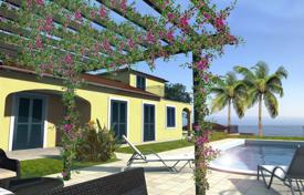 3 bedroom off-plan houses for sale in Southern Europe. Project of a villa with a panoramic sea view, in a gated residential complex, at 800 meters from the sea, Ospedaletti, Italy