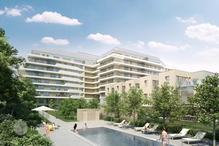 Apartments with pools for sale in Austria. New apartment with 3 bedrooms and a balcony in a modern complex in Vienna, prestigious area of Döbling