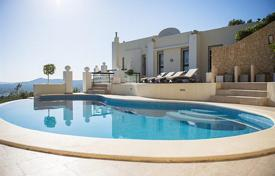 Residential for sale in Ibiza. Furnished villa with a pool and views of the island of Formentera, Ibiza, Balearic Islands, Spain