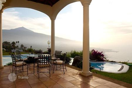 Luxury houses for sale in Tenerife. Villa – Orotava, Canary Islands, Spain