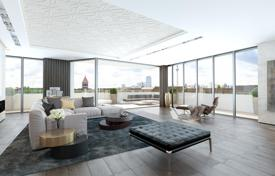 Luxury penthouses for sale in Berlin. Design, 2-level penthouse with high-end finishes, in a new residence with a garden terrace on the roof, Prenzlauer Berg, Berlin