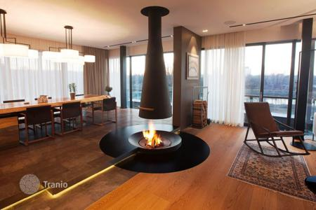Penthouses for sale in Central Europe. Penthouse with spectacular views of the river in Prague