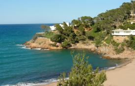 Development land for sale in Costa Brava. Land with sea views and a direct access to the beach, Begur, Spain