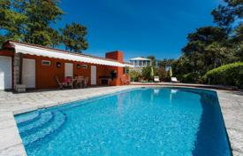 Houses for sale in Lisbon. Villa with an elegant interior and a private swimming pool in Cascais, Portugal