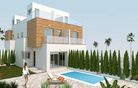 3 bedroom houses for sale in Murcia. Terraced villas with private pool in San Pedro del Pinatar