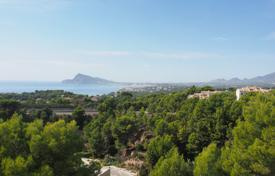 Townhouse with stunning views of the sea and surroundings in Altea, Alicante, Spain for 308,000 €