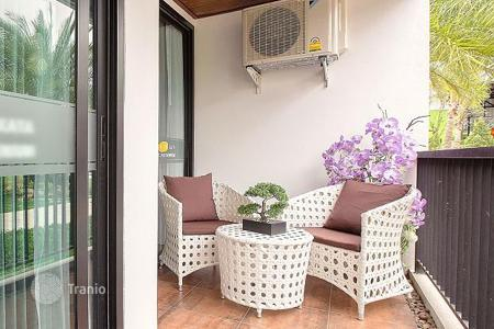 Residential for sale in Thailand. Apartment in a new condominium with a park, pools and parking, 500 m from the sea, in Kata district, Phuket. Rental income — 8%!