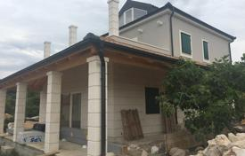 Houses with pools for sale in Rogoznica. Unfinished villa with a terrace, a pool and a garden, near the beach, Rogoznica, Šibensko-Kninska, Croatia