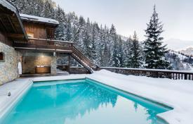 Villas and houses for rent with swimming pools in French Alps. Chalet – Meribel, Auvergne-Rhône-Alpes, France
