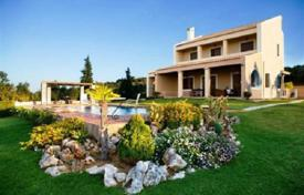 Three-storey villa with an olive grove and a sea view in Chania, Crete, Greece for 2,500,000 €