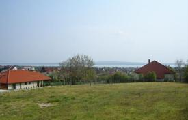 Development land for sale in Lake Balaton. Plot of land overlooking Lake Balaton in Vonyarcvashegy, Hungary