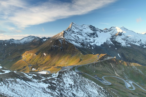 The High Tauern national park in Austria