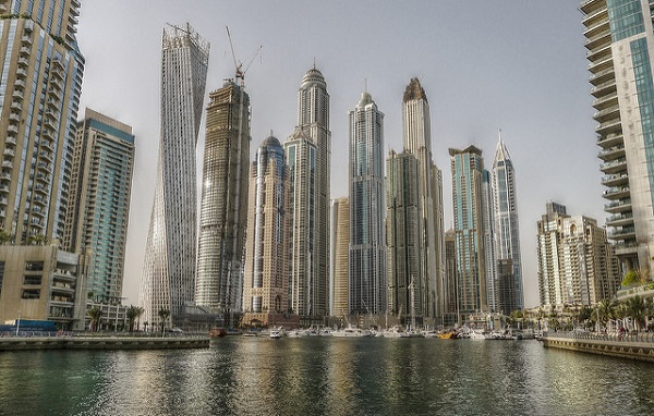 Dubai Marina is one of the most upmarket districts in the city with high property prices