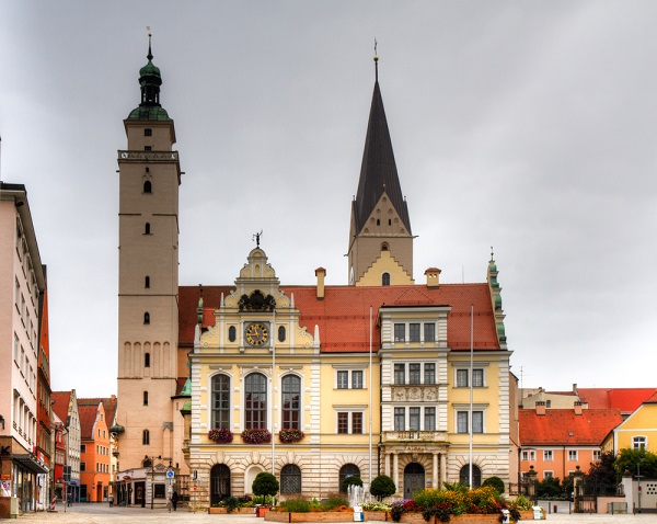 In the novel by Mary Shelly, Ingolstadt is the place where Frankenstein's monster was born