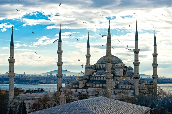 The Blue Mosque is the most important mosque of Istanbul