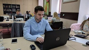 Oleg Dzenzerya is the point man for partner relations at Tranio.com
