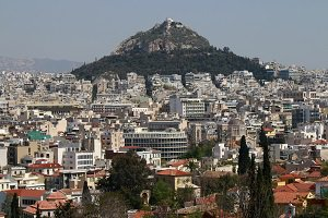 Office buildings in central Athens are being converted into hotels to cater to the growing number of tourist arrivals